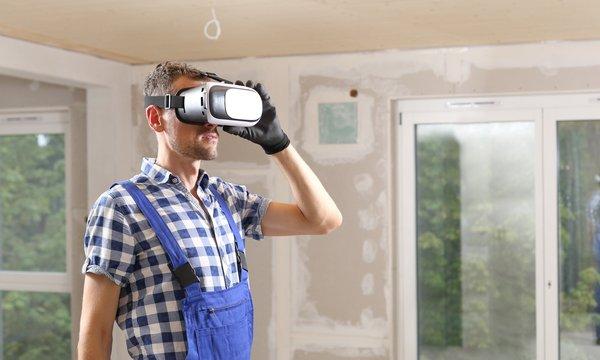 Badplanung mit 3D-Brille Cottbus